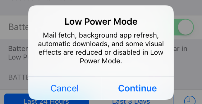 activate low strength mode on iphone