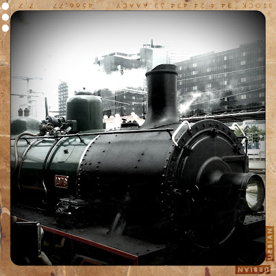 Queensland Railway Museum steam train