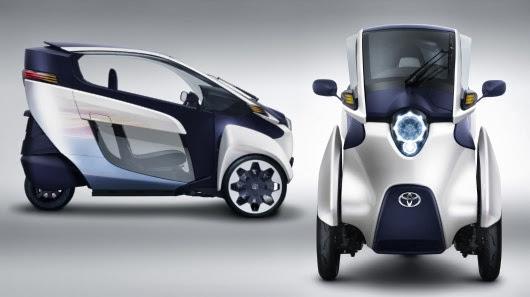 Toyota lanzará al mercado un triciclo amigable con el medio ambiente
