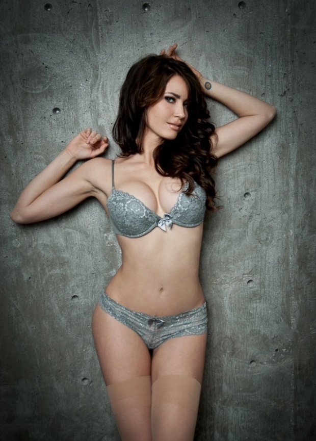 Tanit Phoenix model huge sexy Clevages Lingerie Nude Bra Panties WOW Cleavage Ass Bridal Lingerie