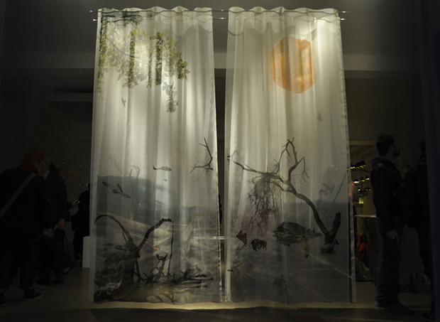 3D Curtains by Ooze Architects