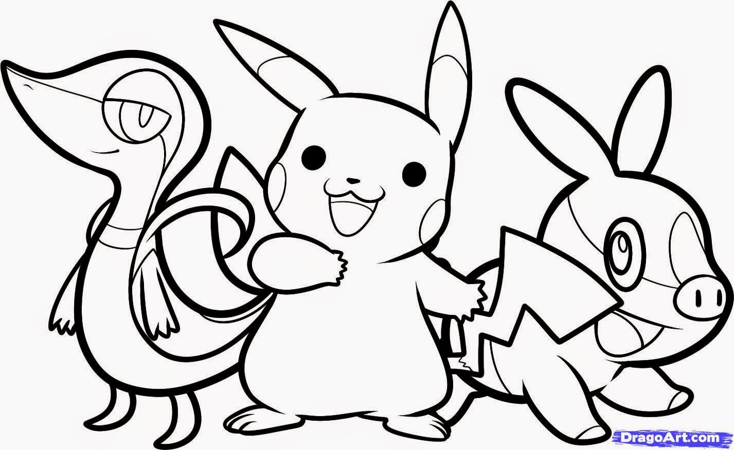Dessin A Colorier Pokemon Gratuit