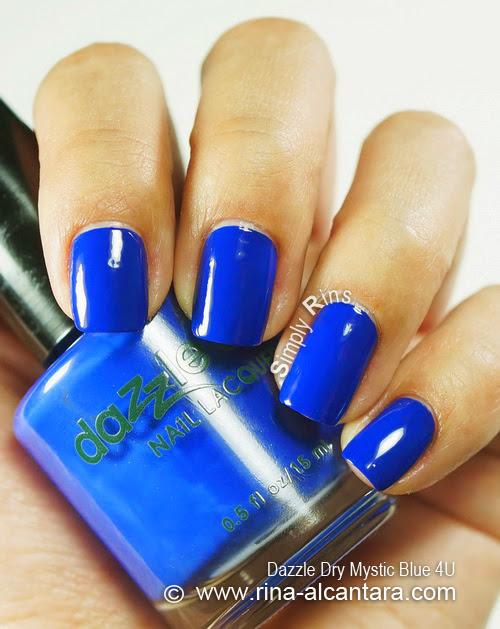 Dazzle Dry Mystic Blue 4U