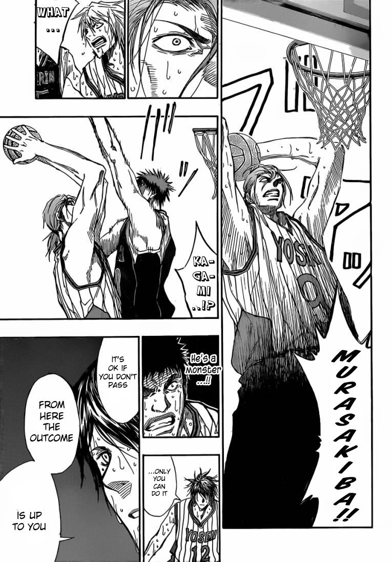 Kuroko no Basket Manga Chapter 168 - Image 05