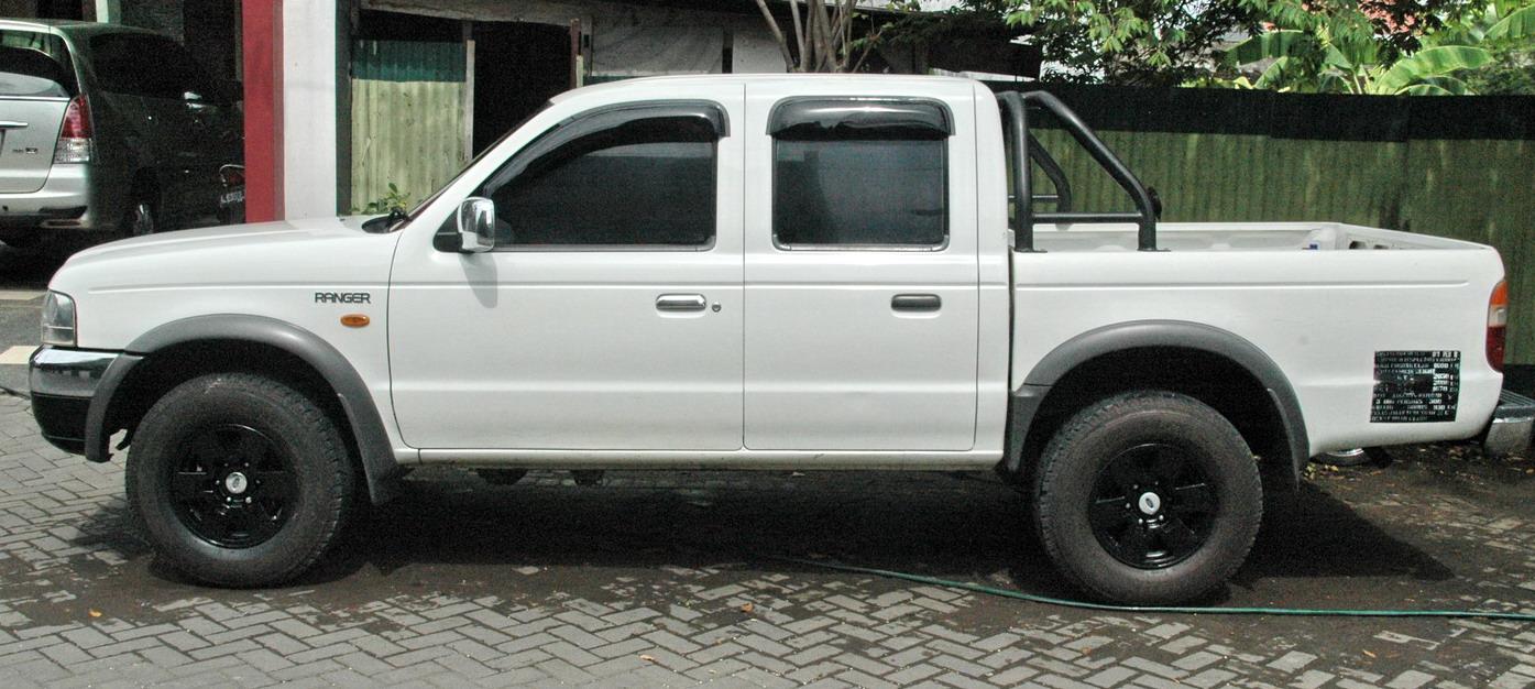 automoda: ford ranger xlt 2004 doublecabin 4x4