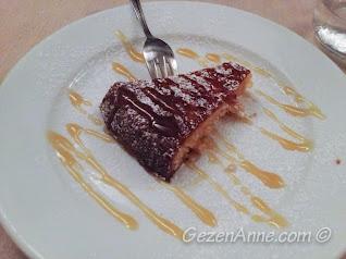 limonlu kek, Michelangelo restoran Capri