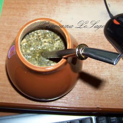 Yerba Mate Ostrokrzew Paragwajski Tykwa Bombilla termometr ceramiczne naczynia
