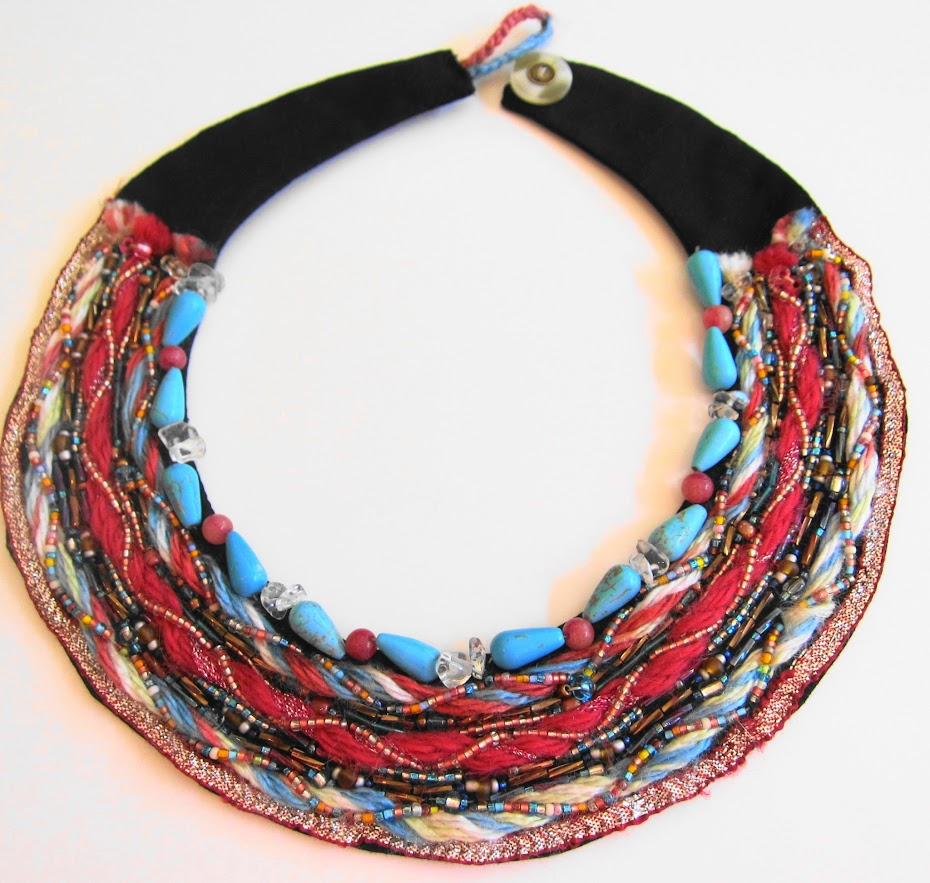 Gorgeous Turquoise Necklace by Georgean Beauty