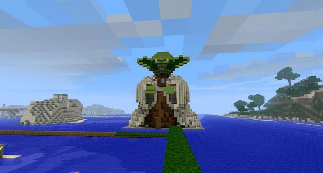 Minecraft Yoda