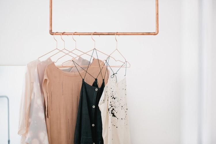 Vosgesparis A Copper Clothes Rack Inspiration From