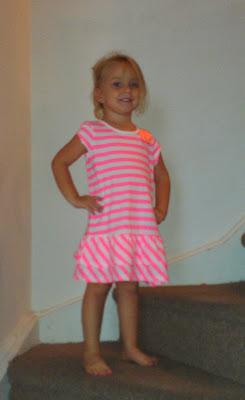 POD: Violet's new dress