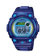 Jam Tangan Wanita Warna Biru Casio Baby-G  Casio Baby G : BGD-501FS-2