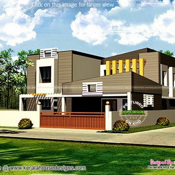 280 sq-yd contemporary home