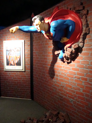 Superman at Zap! Pow! Bam!