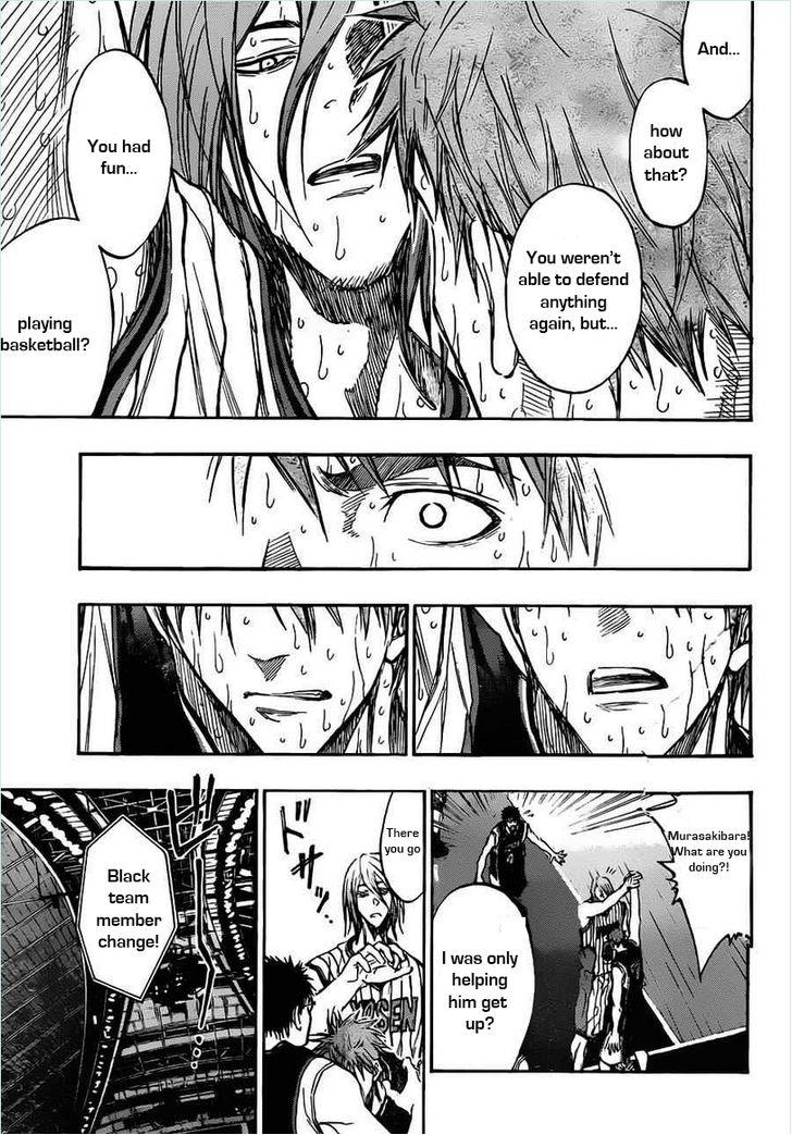 Kuroko no Basket Manga Chapter 157 - Image 17