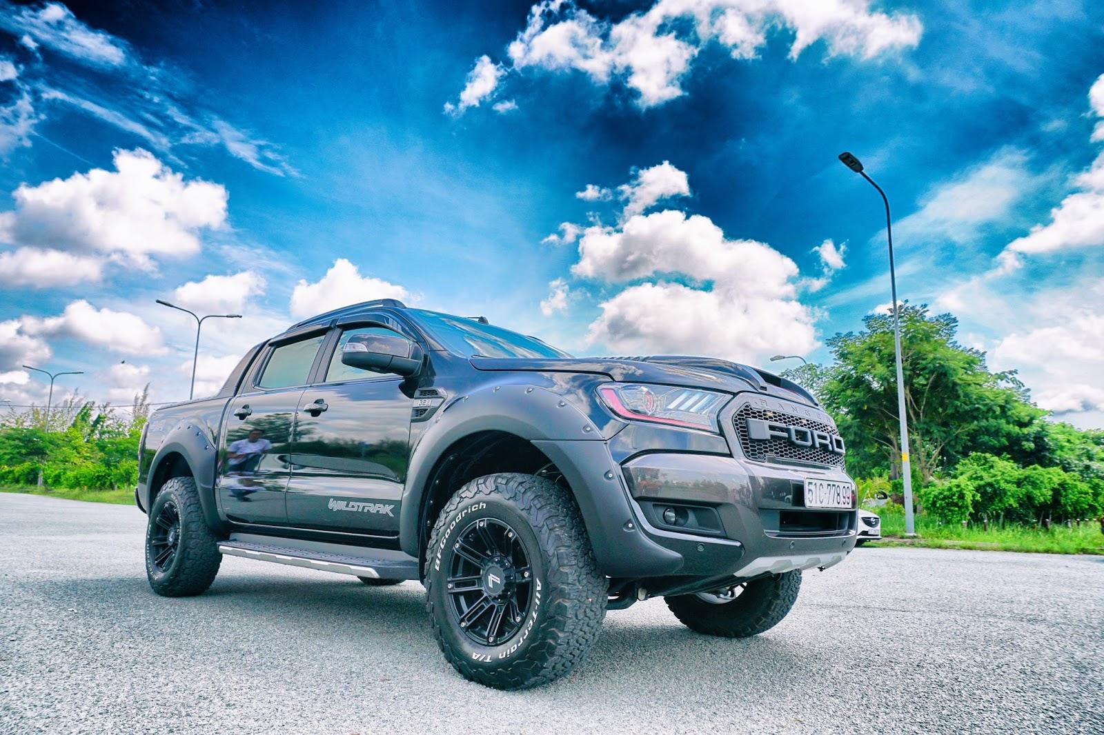 Ford Ranger Wildtrak là một trong những chiếc bán tải ăn khách và được độ nhiều nhất tại Việt Nam