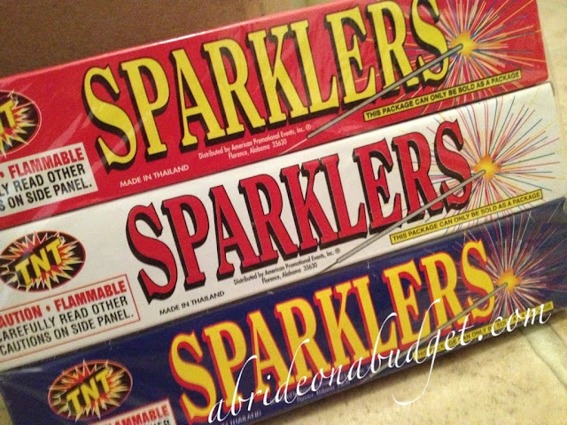 Planning a sparkler send off at your wedding? Now is the time to stock up on sparklers. Get all the details at www.abrideonabudget.com.