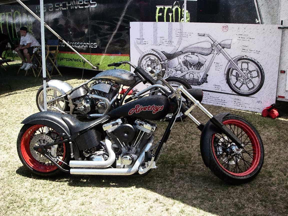 Modifikasi Honda Tiger Menjadi Harley