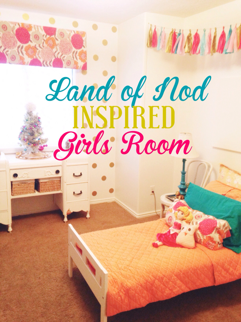 Budget land of nod inspired girls room the style sisters for Land of nod recipe