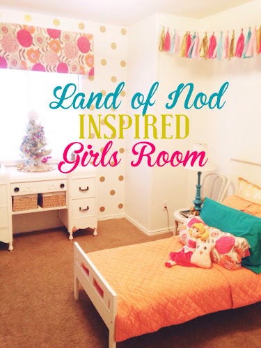 Land of nod inspired girls room