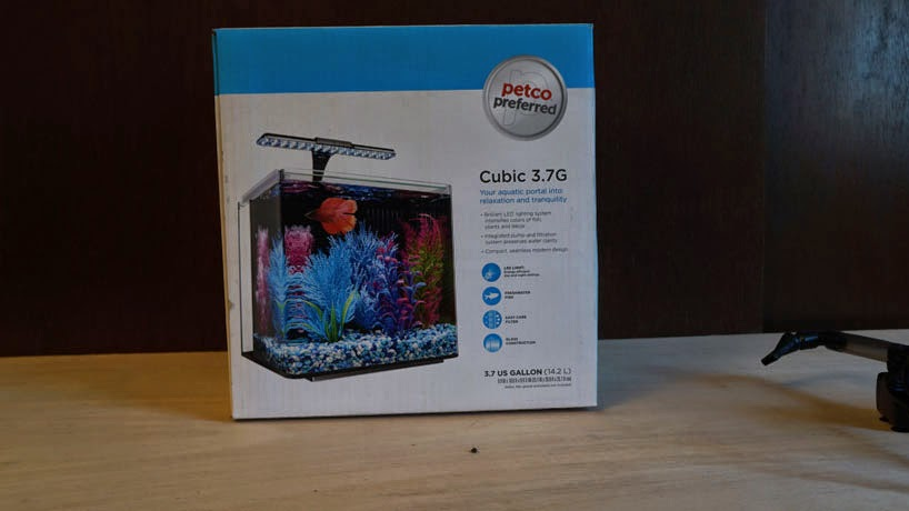 i picked up a petco branded 3.7 gallon cube tank today - the planted ...