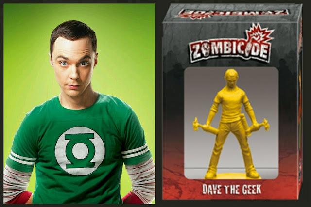 Sheldon Cooper de Zombicide