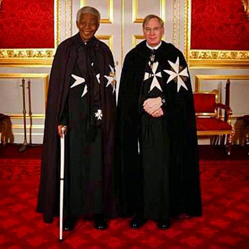 Revisit Nelson Mandela Member Of The Knights Of Malta