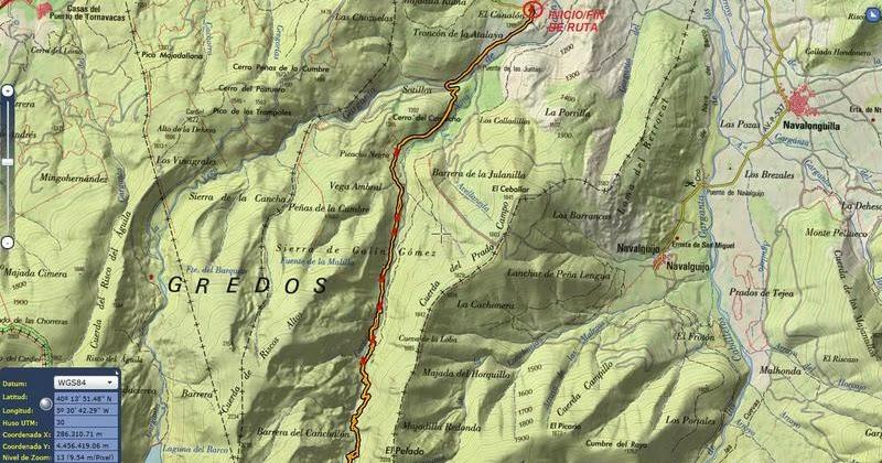 Laguna De La Nava Gredos Occidental 17 9 11 Tras Los Pasos Del