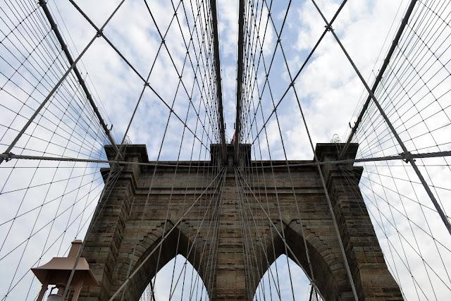 Бруклинский мост, Нью-Йорк (Brooklyn Bridge, NYC, NY)