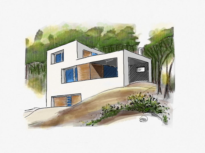 House 02 made with Sketches