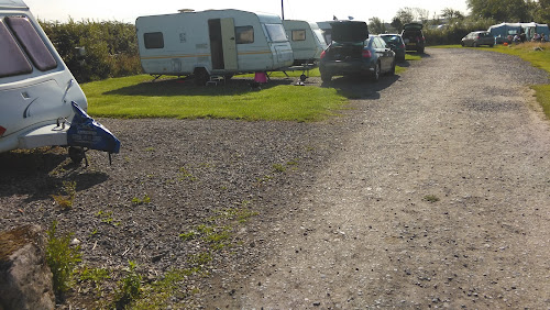 Camping  at Pitton Cross Caravan Site