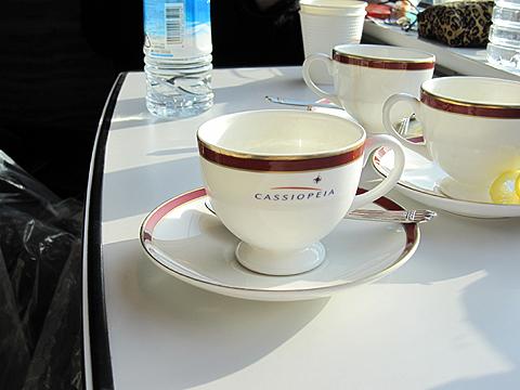 寝台特急「カシオペア」 モーニングコーヒー