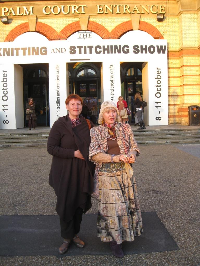 The Knitting and Stitching Show, Alexandra Palace London 2009   ?????? ??????...