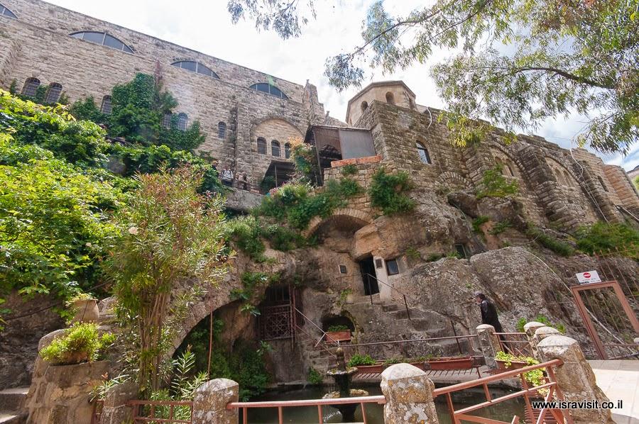 Монастырь Иоанна Крестителя в пустыне и пещера - скит Иоанна. Экскурсии в Израиле Светланы Фиалковой.