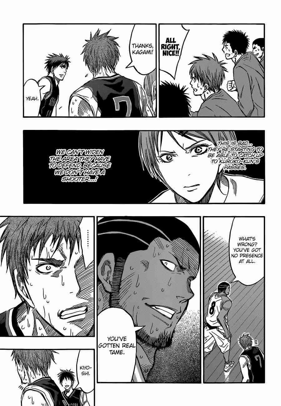 Kuroko no Basket Manga Chapter 256 - Image 05