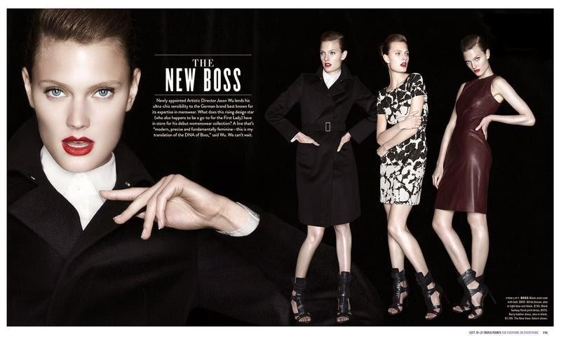 Bloomingdale's The New Boss (advertorial): Constance Jablonski