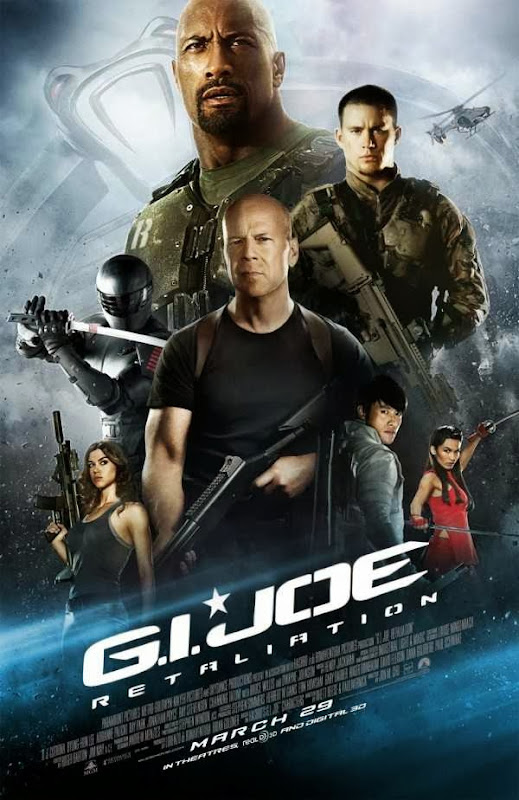 Poster Of English Movie G.I.Joe: Retaliation (2013) Free Download Full New Hollywood Movie Watch Online At Alldownloads4u.Com