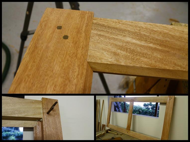 Fabrication d'un volet bois pour l'atelier - Page 2 Volet%2Batelier-011