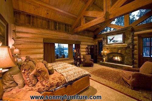 Phòng ngủ mộc mạc cho mùa đông ấm áp-1