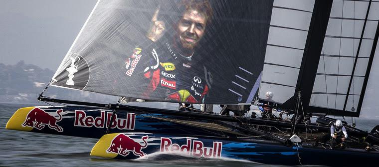 Posible diseño del nuevo barco de vela de Red Bull para la temporada 2014 de F1