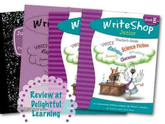 WriteShop Junior Level E {Review}