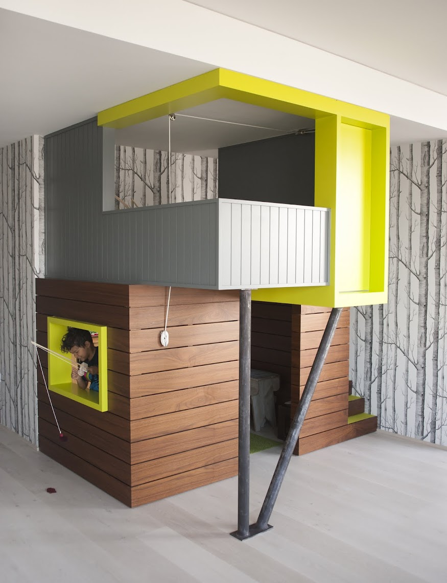 Kids Playhouse in Apartment