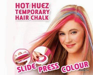 Hair Chalk Temporary Hair Color By End AM - Hair colour chalk