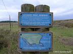 Duxbury Reef Trail - sign close to Mesa Rd