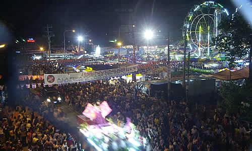 Noche de carnaval en San Miguel