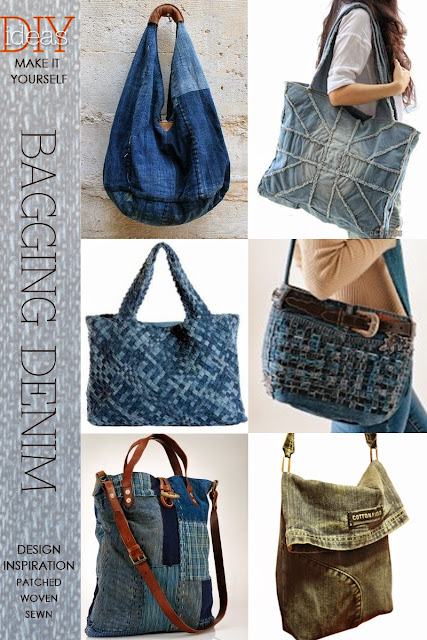 Diy Restyle Bagging Denim