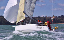 J/109 racer cruiser sailboat