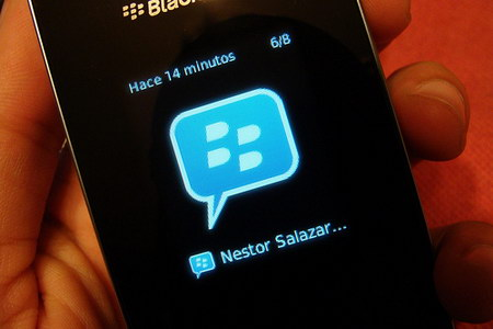 BlackBerry Messenger application for Android platform and iPhone from Apple.