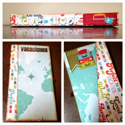 DIY: travel book de scrapbooking