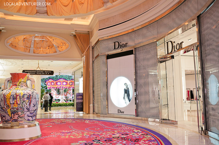 Show Me Your Neighborhood - Dior at the Wynn.